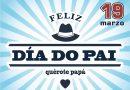 """Cambados Zona Centro lanza a campaña do Día do Pai co lema """"quérote papá"""""""
