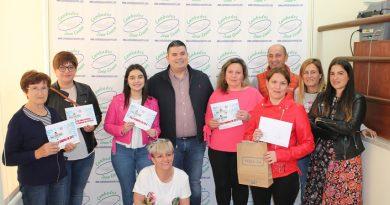 Zona Centro entrega os premios da campaña do Día do Pai
